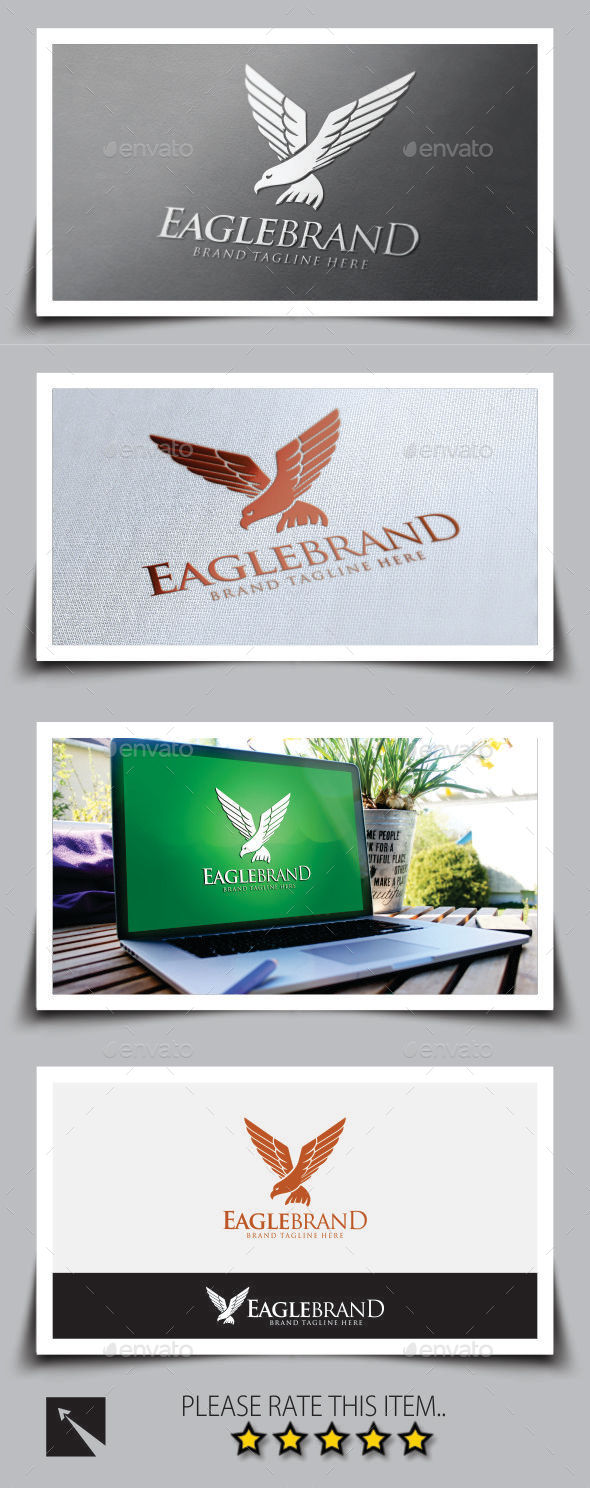 GraphicRiver Eagle Brand Logo Template 8818757
