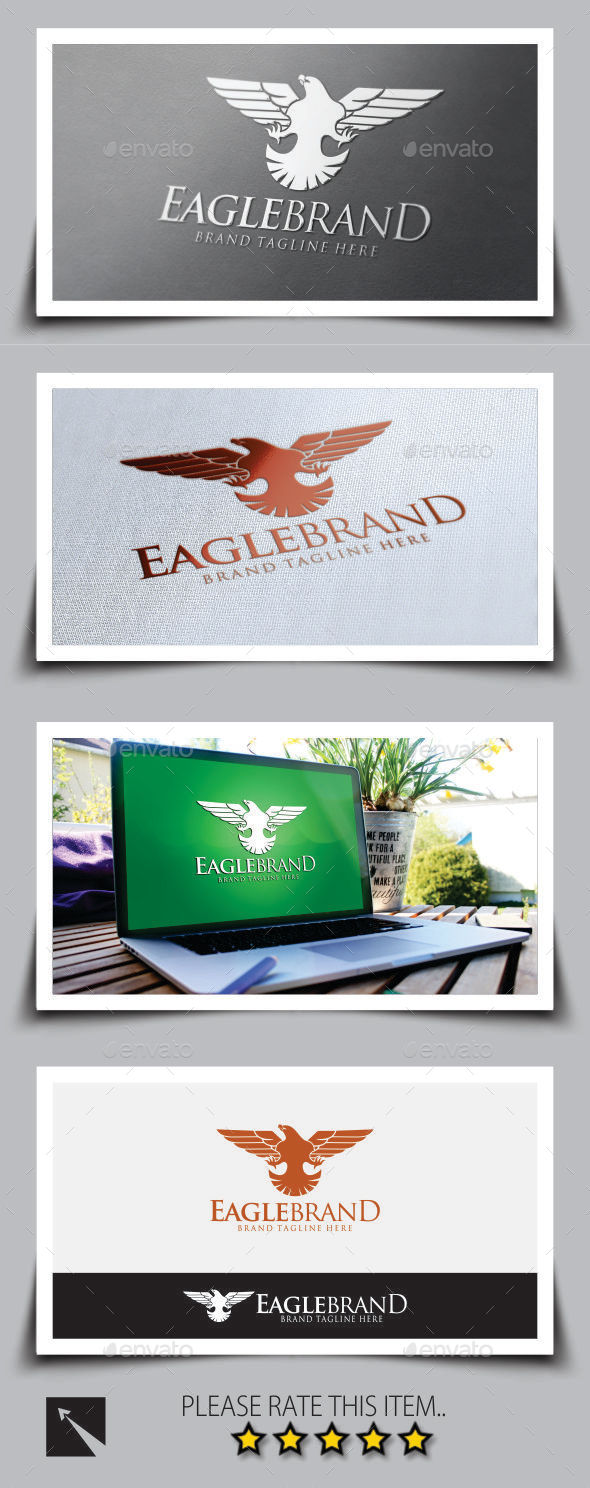 GraphicRiver Eagle Brand v2 Logo Template 8818762