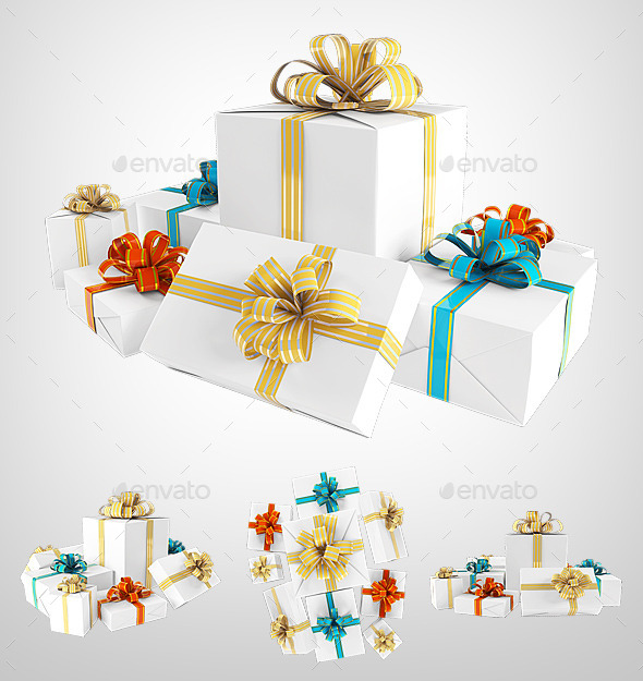 GraphicRiver Gift Pack 8818331