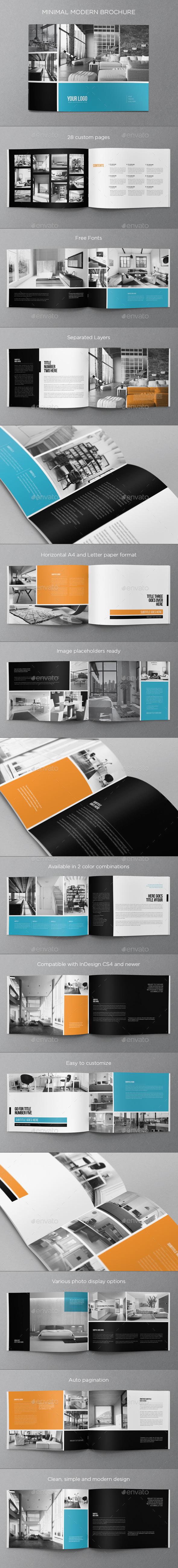 GraphicRiver Minimal Modern Brochure 8819275
