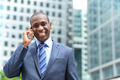 Smiling businessman talking on the phone - PhotoDune Item for Sale
