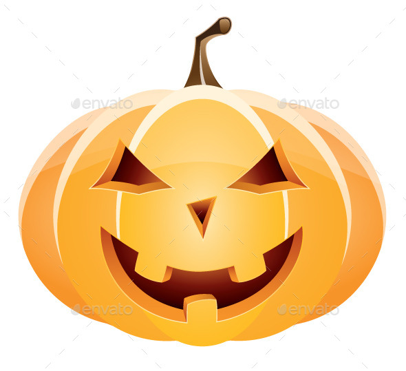 GraphicRiver Halloween Pumpkin 8819436