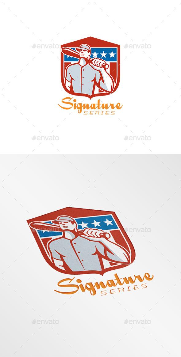 GraphicRiver Signature Baseball Series Logo 8819572