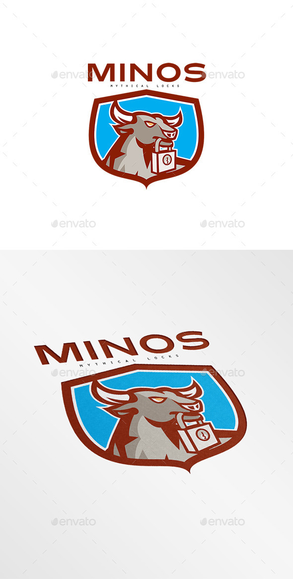 GraphicRiver Minos Locks Logo 8819585