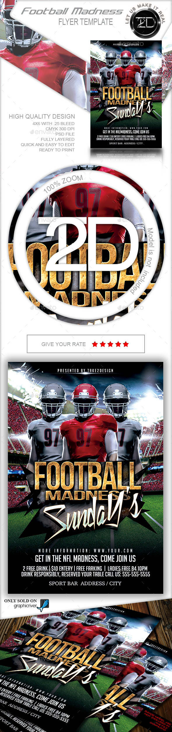 GraphicRiver Football Madness 8819589