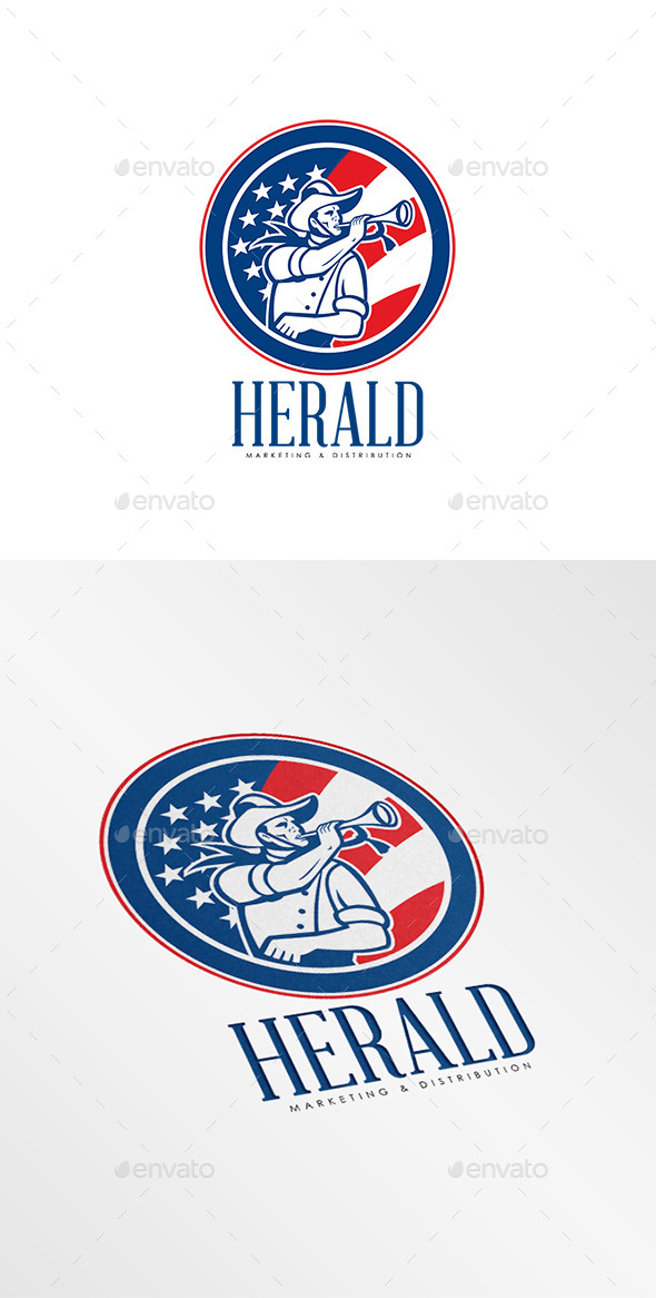 GraphicRiver Herald Marketing and Distribution Logo 8819590