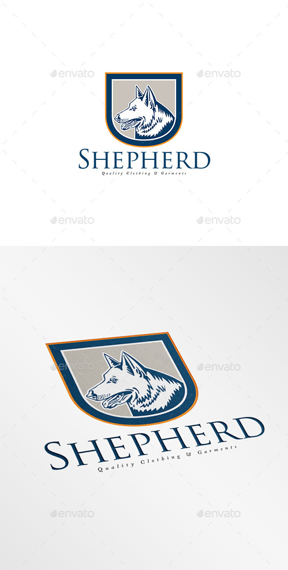 GraphicRiver Shepherd Quality Garments Logo 8819599