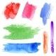 Watercolor Strokes - GraphicRiver Item for Sale