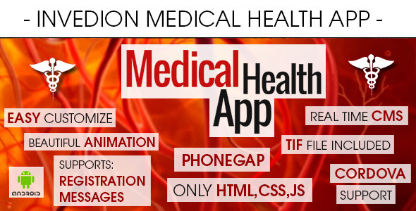 CodeCanyon Medical Health App With CMS Android 8819682