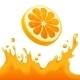 Orange Juice Splash - GraphicRiver Item for Sale