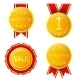 Golden Medals - GraphicRiver Item for Sale
