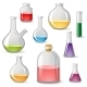 Flasks Icons - GraphicRiver Item for Sale
