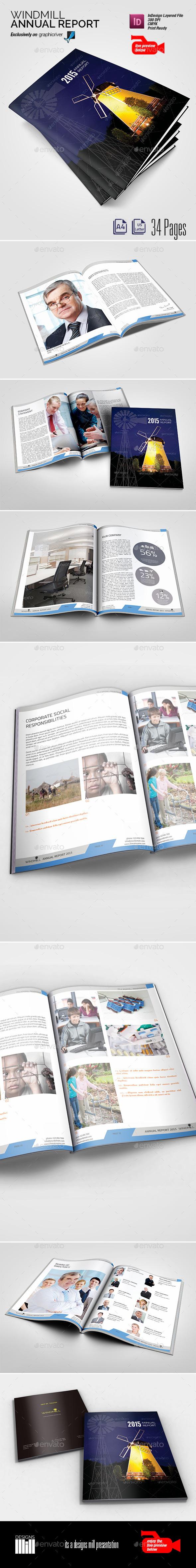 GraphicRiver Windmill Annual Report 8813232