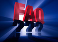 Brightly Backlit FAQ Over Questions - PhotoDune Item for Sale