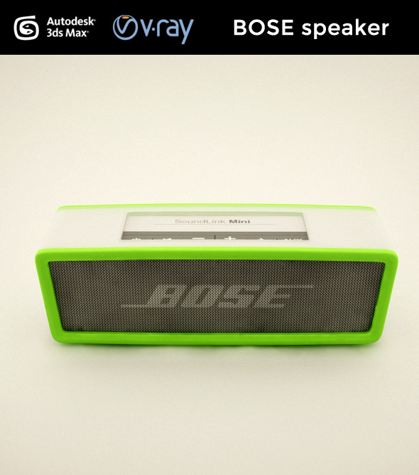 BOSE speaker - 3DOcean Item for Sale