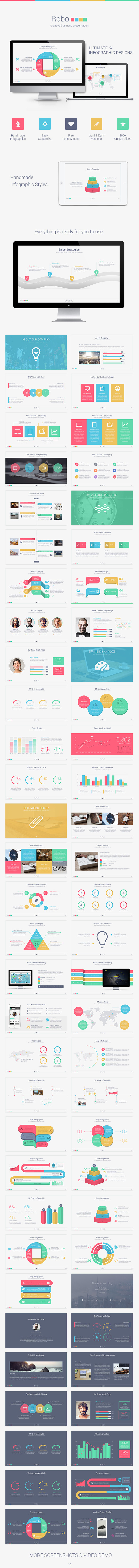GraphicRiver Robo Keynote Presentation Template 8820860