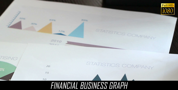 Financial Business Graph 4