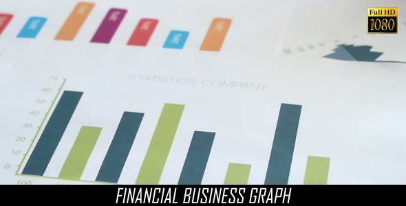 Financial Business Graph 5