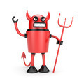 Robot as Devil - PhotoDune Item for Sale
