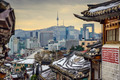 Seoul, South Korea Historic Distric and Skyline - PhotoDune Item for Sale