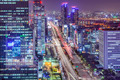 Seoul, South Korea Cityscape at Night - PhotoDune Item for Sale