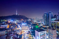 Seoul, South Korea Skyline - PhotoDune Item for Sale