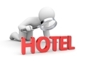 Person analyzes hotels - PhotoDune Item for Sale