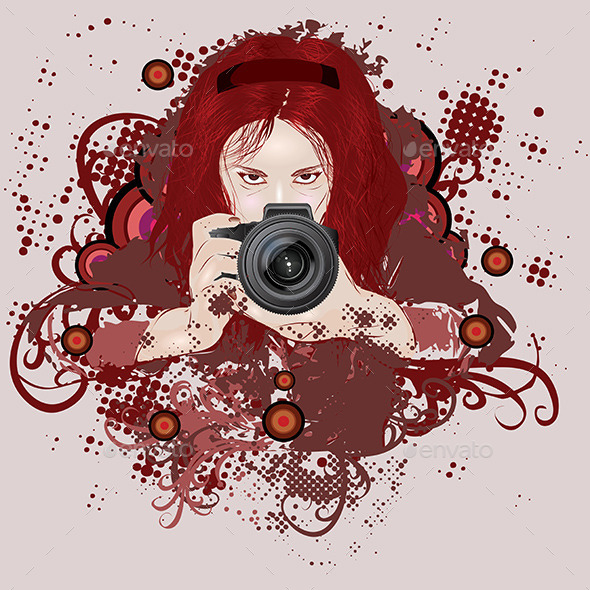 GraphicRiver Photographer Girl 8821864