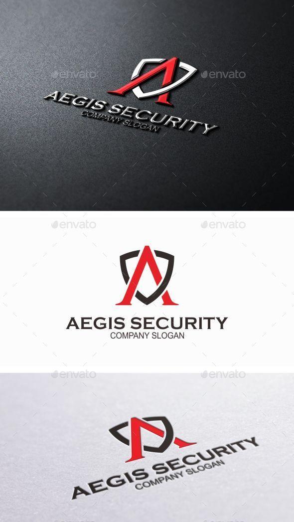 GraphicRiver Aegis Security Logo Template 8821896