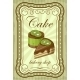 Vintage Cupcake Poster. Vector Illustration - GraphicRiver Item for Sale