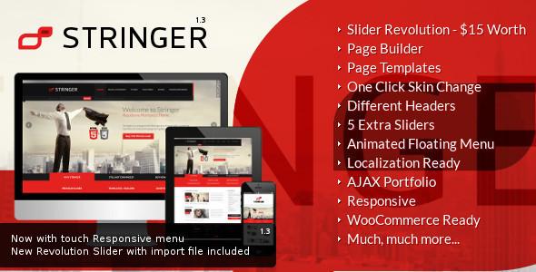 Stringer - Responsive WordPress Theme - Corporate WordPress