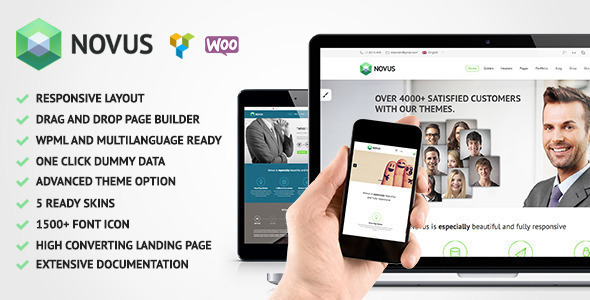 Novus | Premium Multi-Purpose Wordpress Theme - Business Corporate