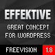 EFFEKTIVE - Bootstrap MultiPurpose Wordpress Theme - ThemeForest Item for Sale