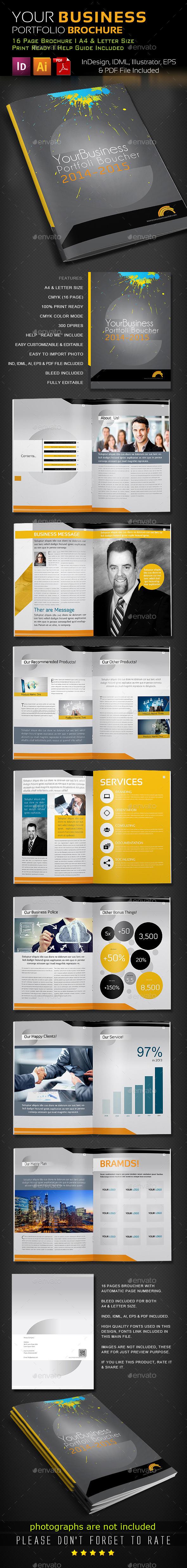 GraphicRiver Corporate Business Brochure 8795673