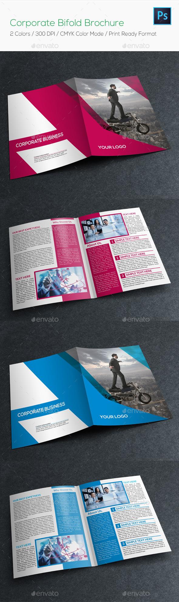 GraphicRiver Corporate Bifold Brochure 8822341