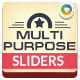 Multi Purpose Sliders - GraphicRiver Item for Sale