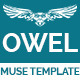 Owel - Creative Multipurpose Muse Template - ThemeForest Item for Sale
