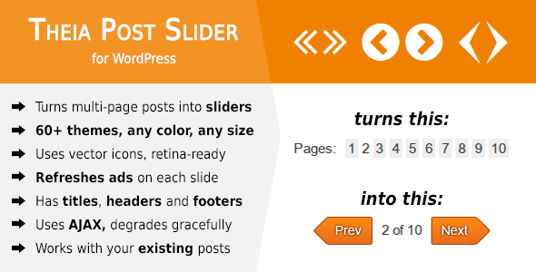 Theia Post Slider for WordPress - CodeCanyon Item for Sale