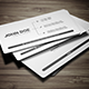 Minimal Business Card 2 - GraphicRiver Item for Sale