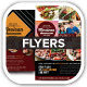 Mexican Restaurant Promotion Flyers - GraphicRiver Item for Sale