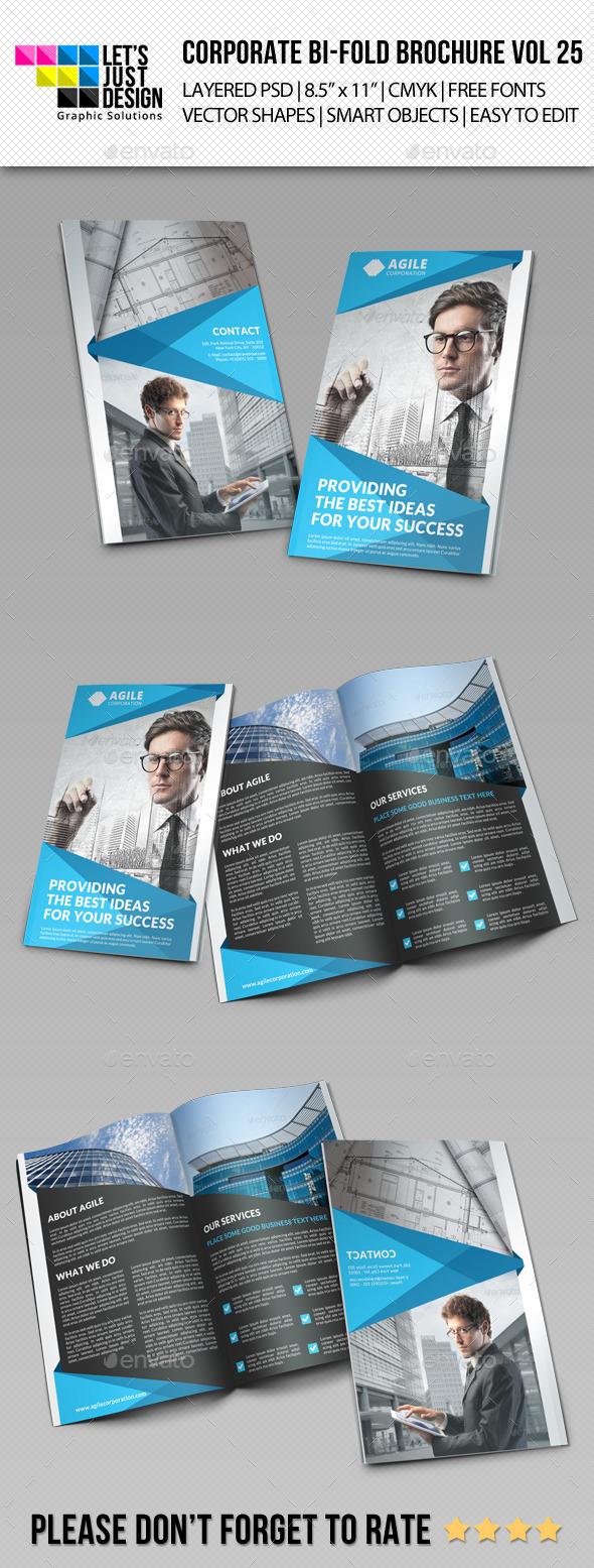 GraphicRiver Creative Corporate Bi-Fold Brochure Vol 25 8822941