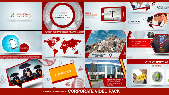 Corporate Video Pack