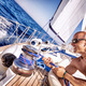Handsome strong man working on sailboat - PhotoDune Item for Sale