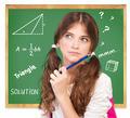 Thinking about mathematics task - PhotoDune Item for Sale