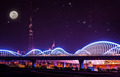 Beautiful cityscape at night - PhotoDune Item for Sale
