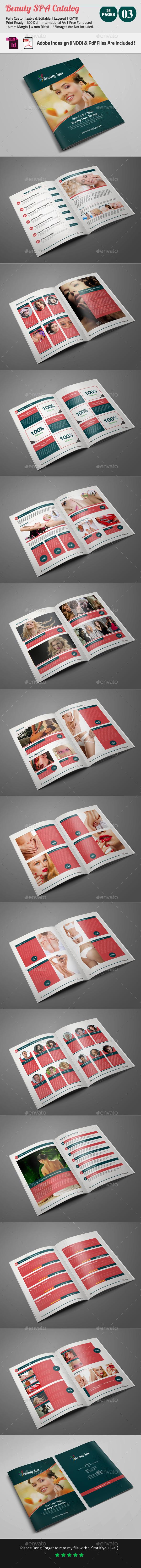 GraphicRiver Beauty SPA Catalog 03 8823348