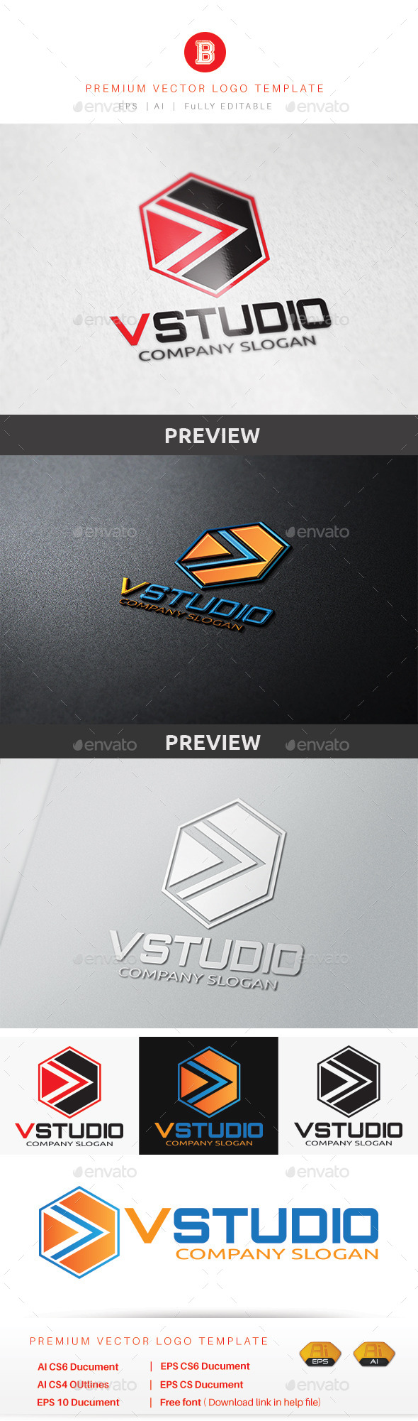GraphicRiver V Studio 8823352
