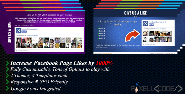 CodeCanyon Facebook Lightbox 8774025