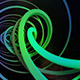 Space Spiral Time Travel Background  - VideoHive Item for Sale