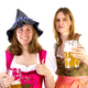 Girl wearing Seppelhut with mother at Oktoberfest - PhotoDune Item for Sale